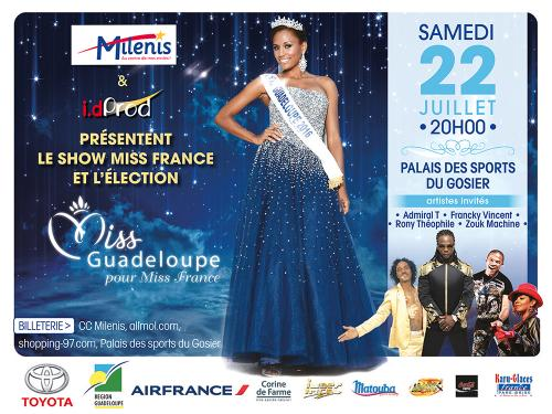 Affiche miss guadeloupe